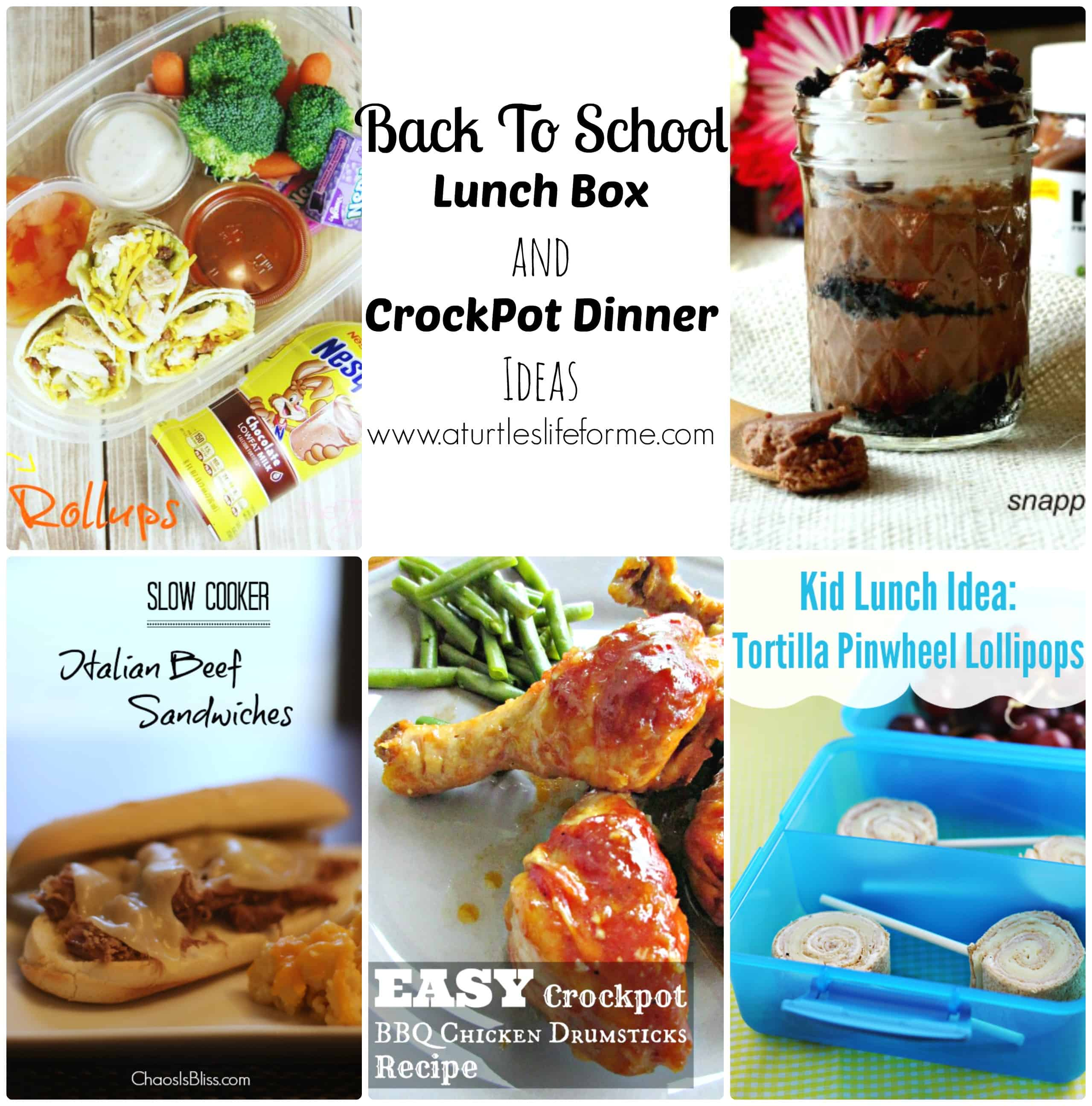 Back to school lunch box and crockpot dinner ideas a turtles back to school lunch box and crockpot dinner ideas a turtles life for me forumfinder Gallery