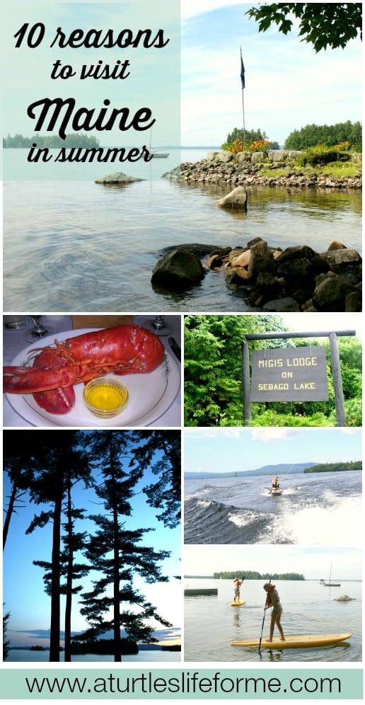 migis lodge maine sebago lake summer vacation