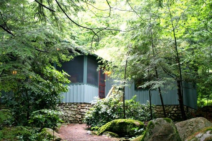 migis lodge sebago lake maine ridge cottage cabin