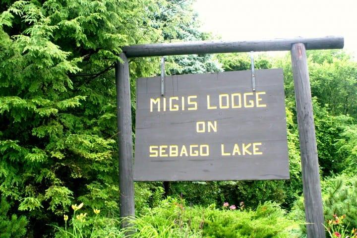 migis lodge sebago lake maine welcome