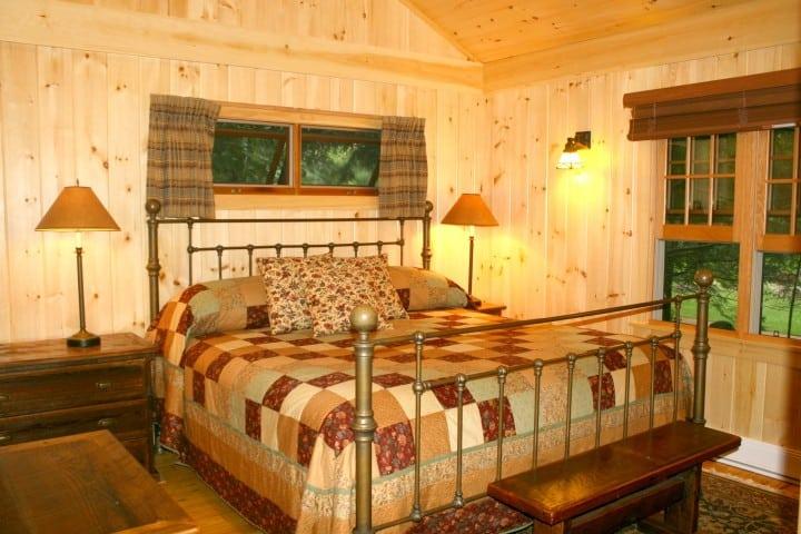 migis lodge sebago lake ridge cottage master