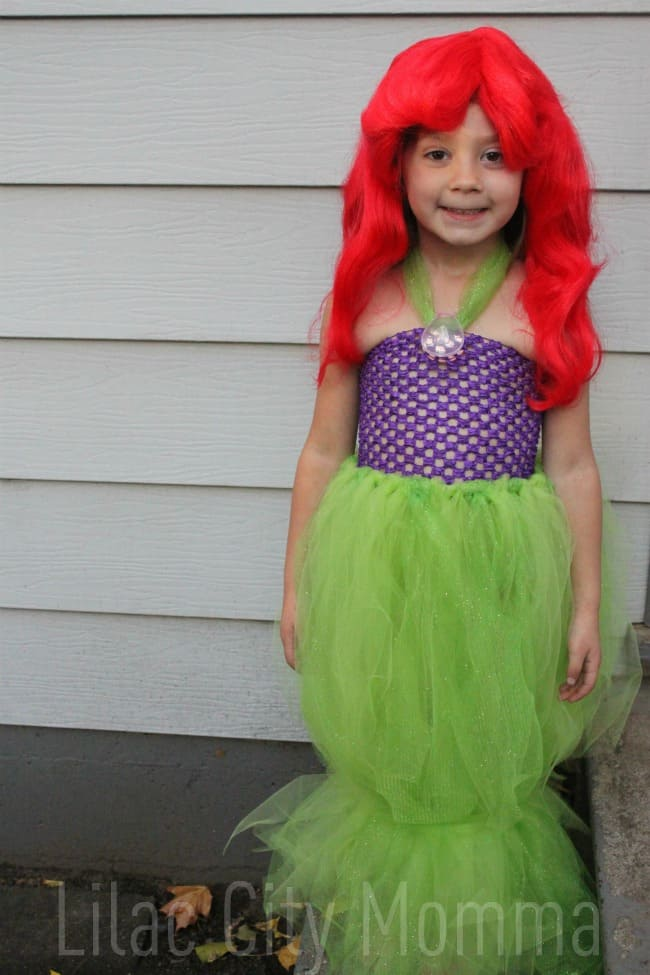 Over 40 do it yourself halloween costumes a turtles life for me ariel the mermaid tulle costume solutioingenieria Image collections