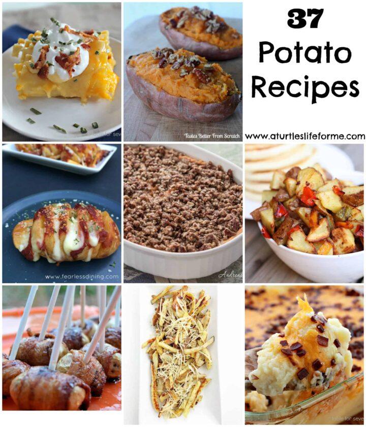 37 potato recipes
