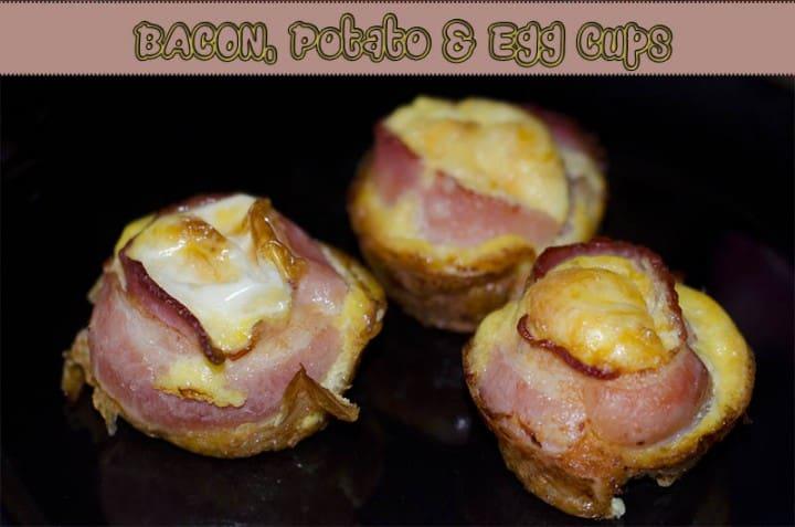 Bacon Potato and Egg Cups