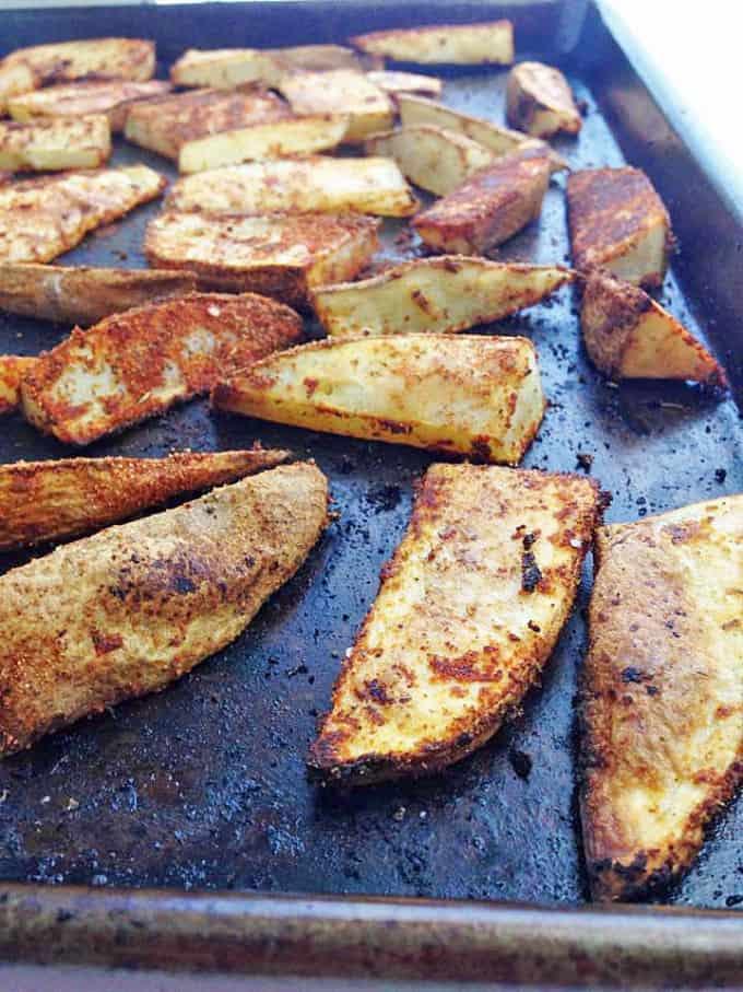 Cajun Potato Wedges