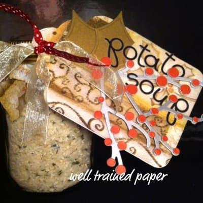 Quick and Easy Potato Soup in a Jar
