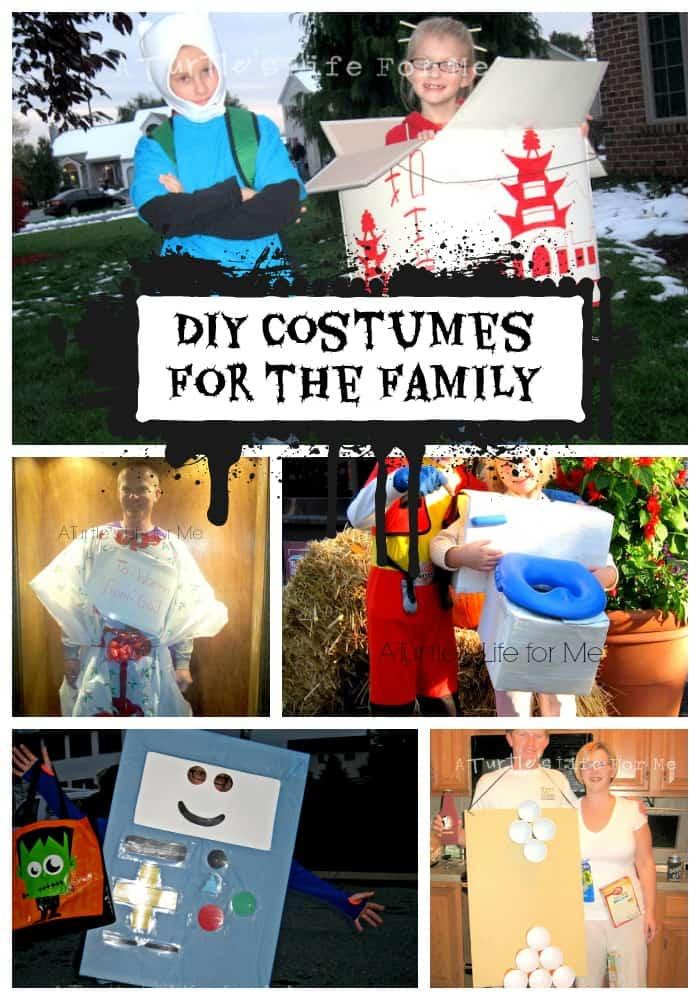diy costumes halloween family