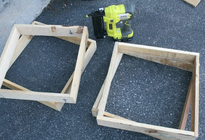 flower boxes ryobi base tops pallets