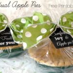 Mini Apple Pie Gifts- Free Printable