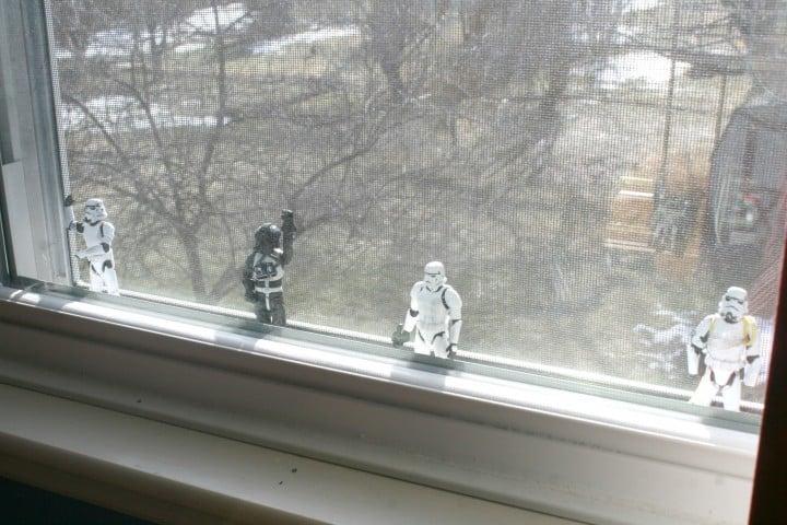 boys window style decorating