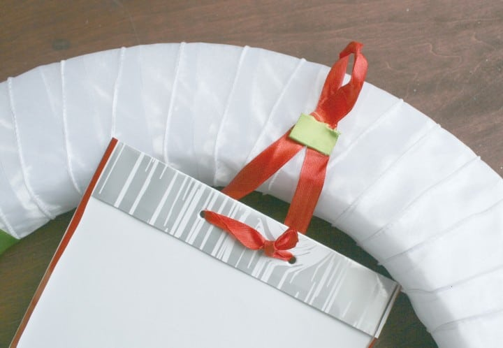 christmas styrofoam wreath hook