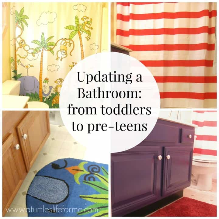 kids bathroom updating toddlers preteens