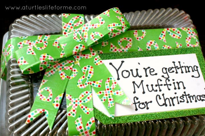 muffin christmas teacher gift neighbor