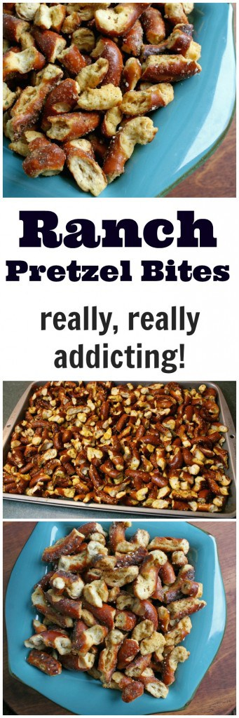 baked marinated pretzels recipe