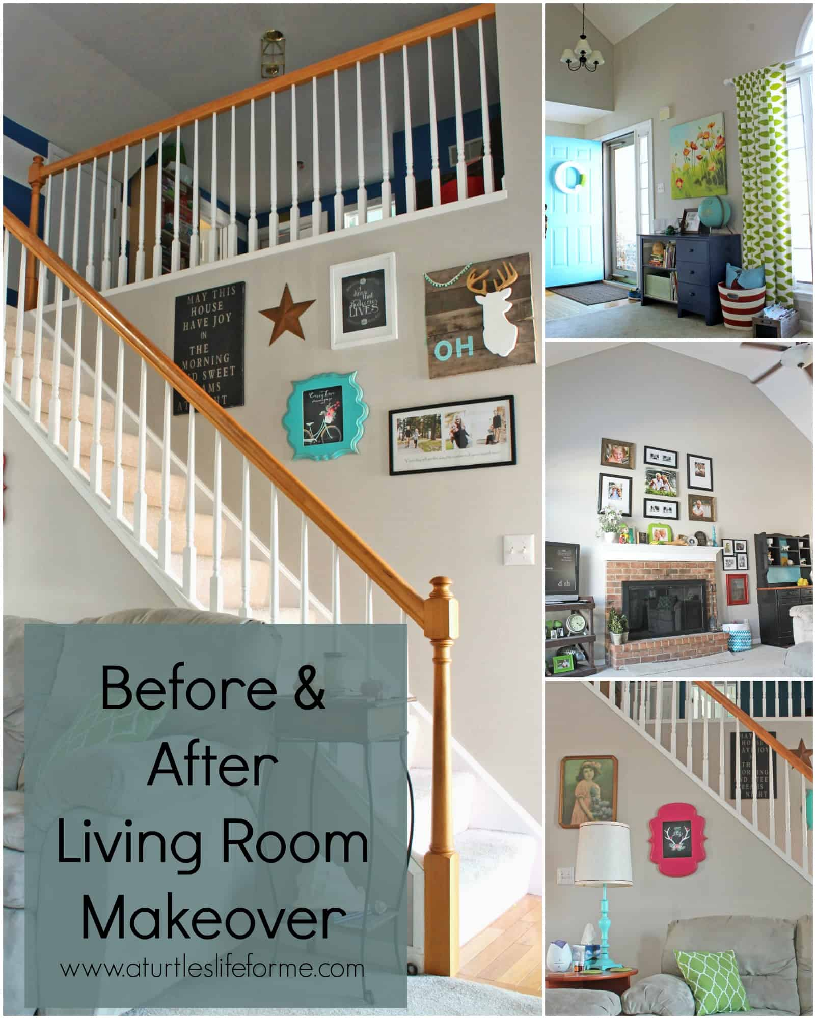 Before And After Living Room Makeover
