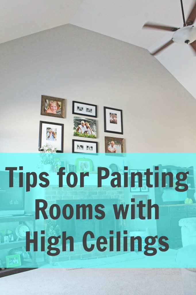 Tips for Painting Rooms with High Ceilings