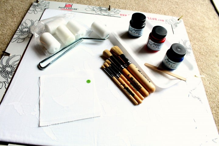 paint a pillow kit accessories