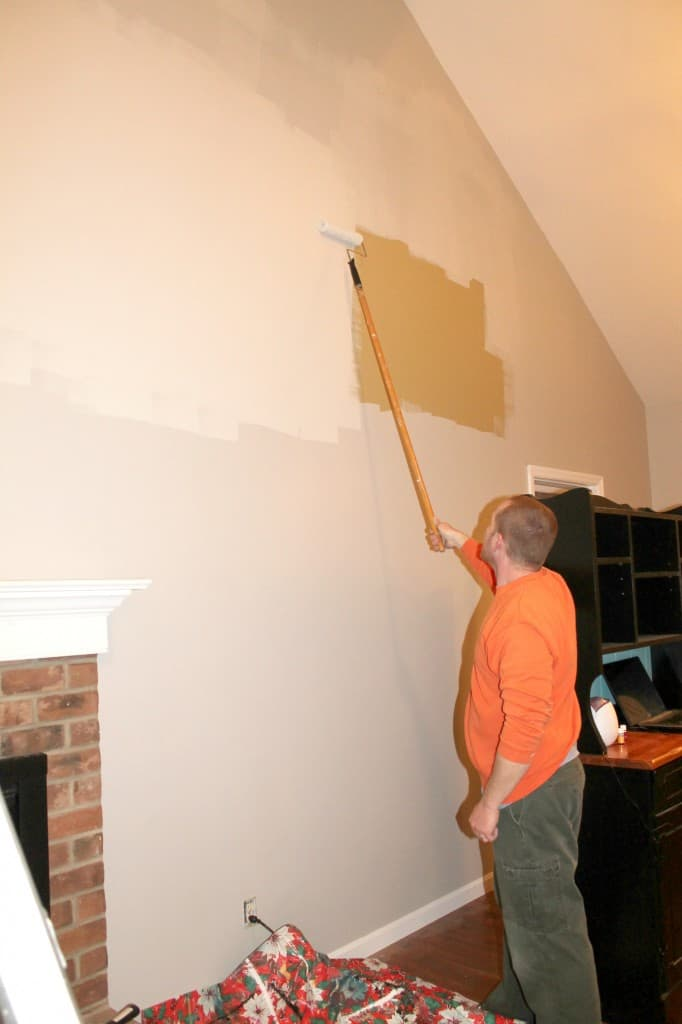 painting high ceilings with sherwin williams