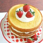 strawberry lemon layer cake- A Turtle's Life for Me