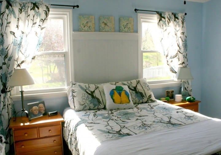 master bedroom after makeover