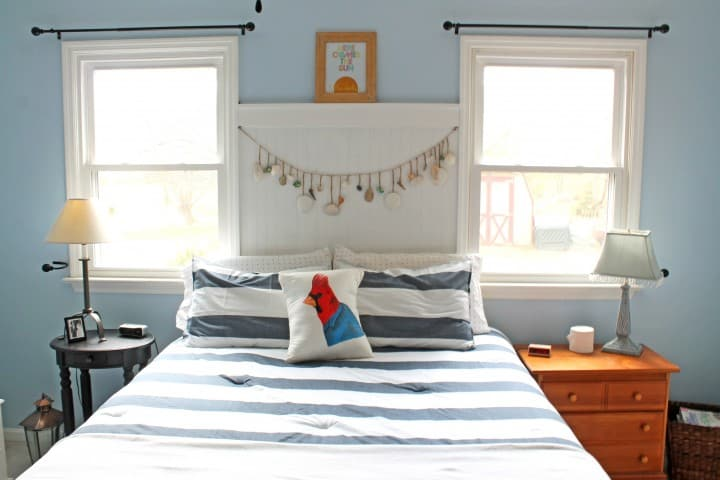 master bedroom nautical makeover nighstands