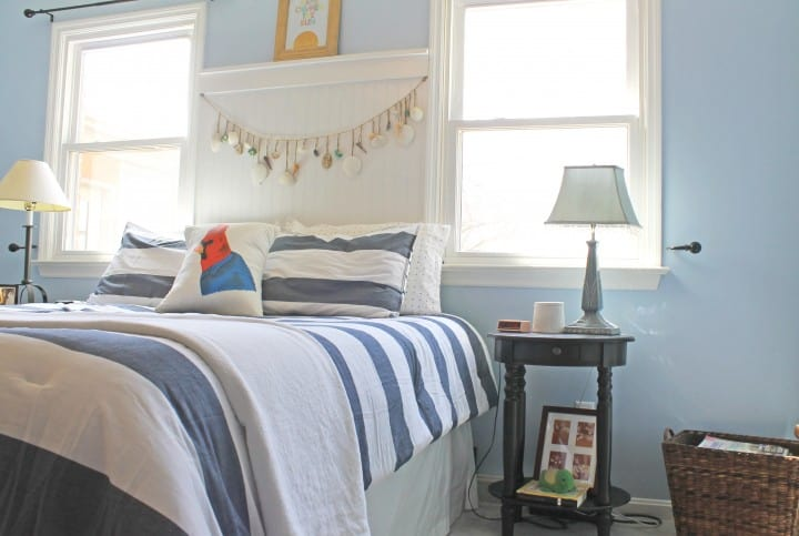 master bedroom nautical nighstands makeover
