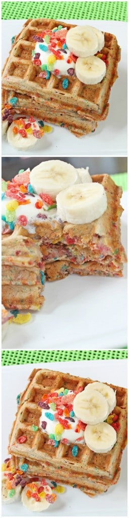 Fruity Pebbles with Fresh Bananas Recipe
