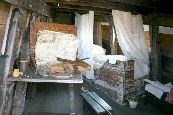 plymouth mass mayflower quarters