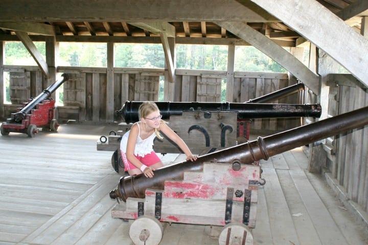 plymouth mass plimoth plantation cannons