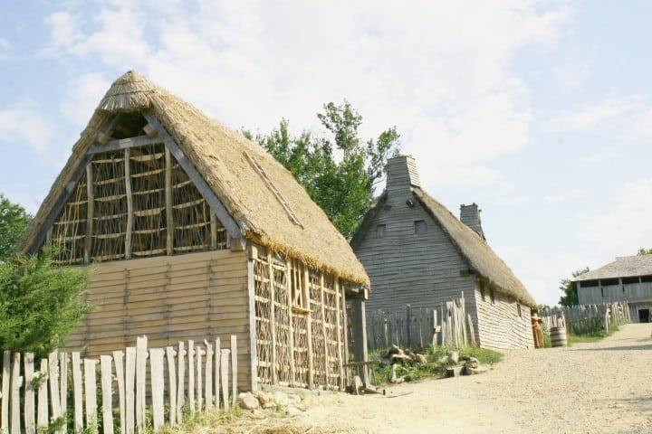 plymouth mass plimoth plantation houses