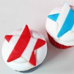 4th of July Fondant Cupcake Toppers