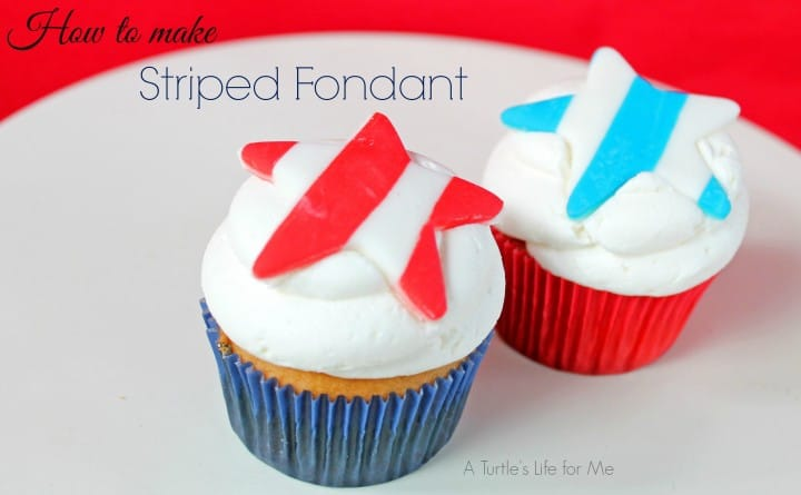 4th of July Red White and Blue Cupcake Toppers 1