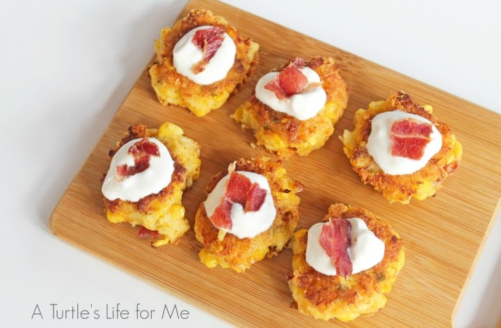 Bacon Jalapeno Corn Fritter Appetizers 1