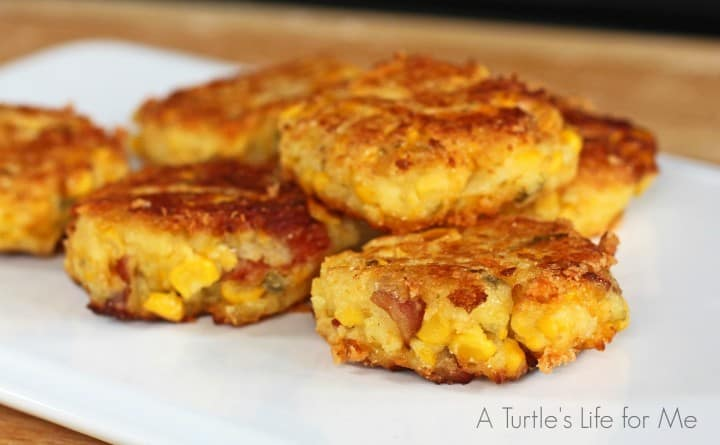 Bacon Jalapeno Corn Fritter Patties 1