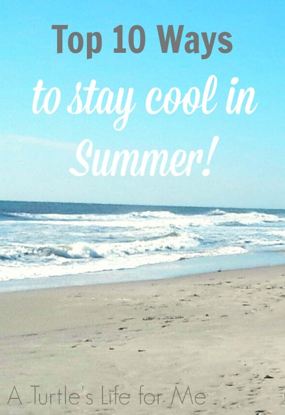 Top 10 Ways to stay cool in summer