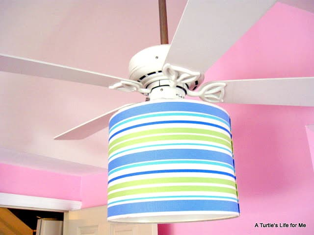 ceiling fan light makeover