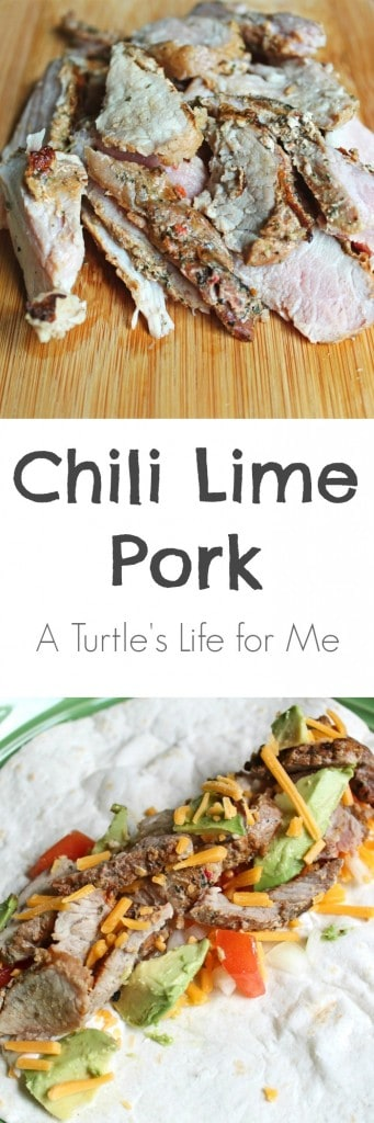 Chili Lime Pork Recipe - great on the grill!