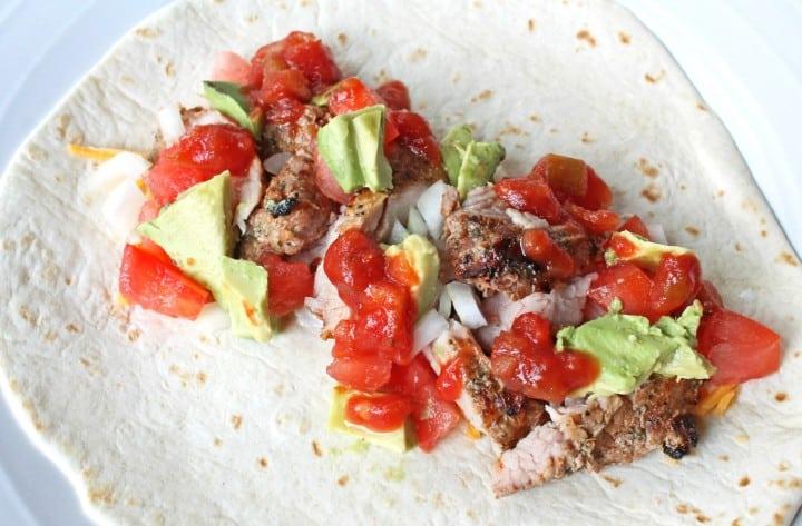 Chili Lime Pork Tacos Recipe