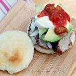 Arepas with Pork