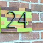 House Number Plaque