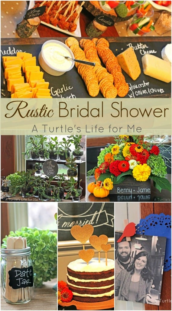 Rustic Bridal Shower that is affordable, homemade and looks great