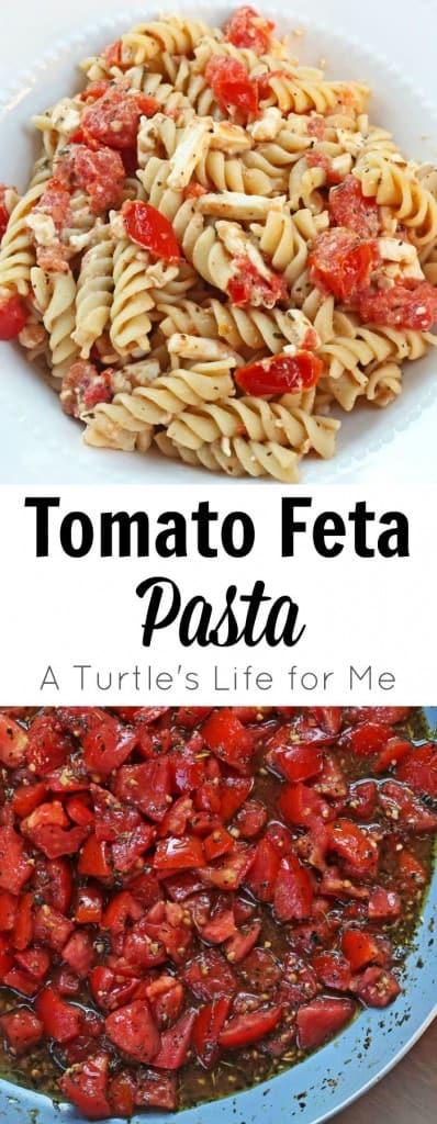 Tomato Feta Pasta Recipe
