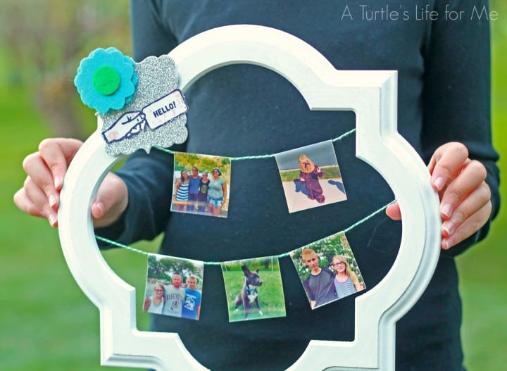 instagram wreath with zink - A Turtle's Life for Me