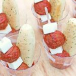 Meatball and Mozzarella Appetizers