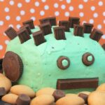 Mint Chocolate Chip Dip for Halloween