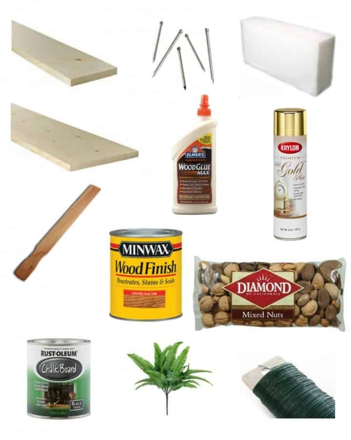 Holiday Centerpiece Supply List