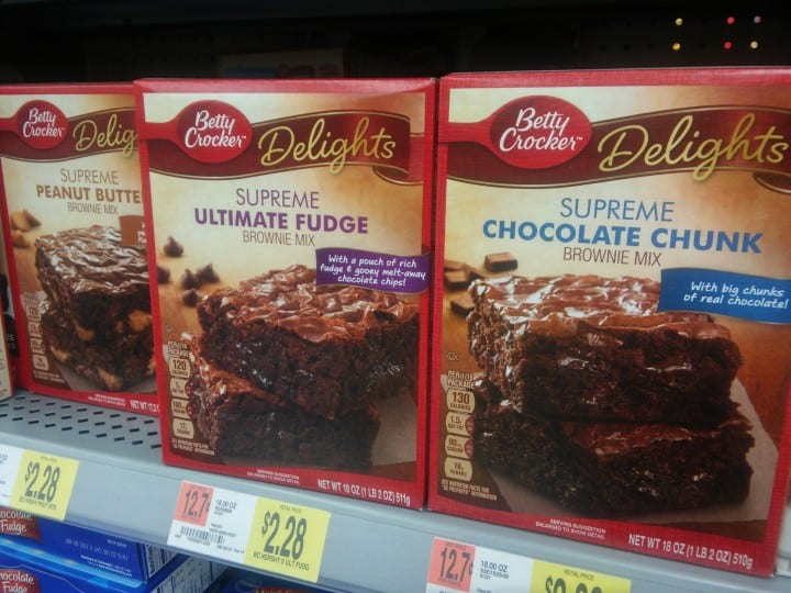 Betty Crocker Fudge Brownie Mix