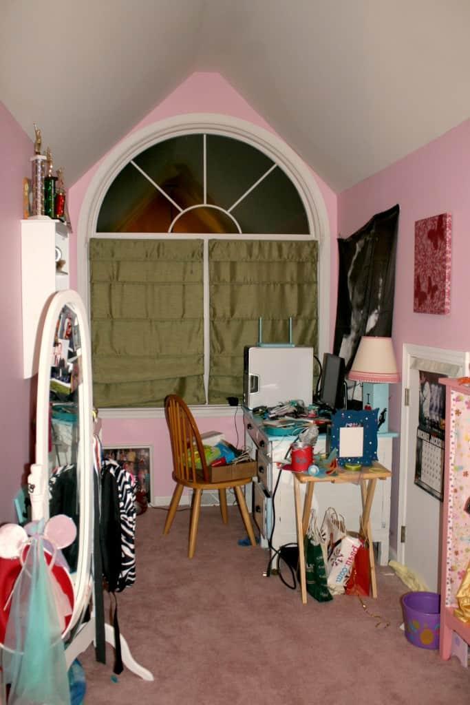 Emma's dormer in pink