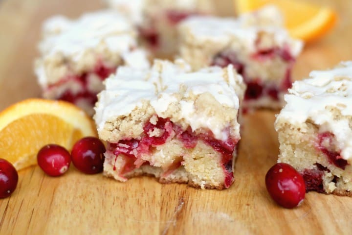 This Orange Cranberry Coffee Cake is so moist and full of flavor! Great for dessert too, doesn't have to be for breakfast!