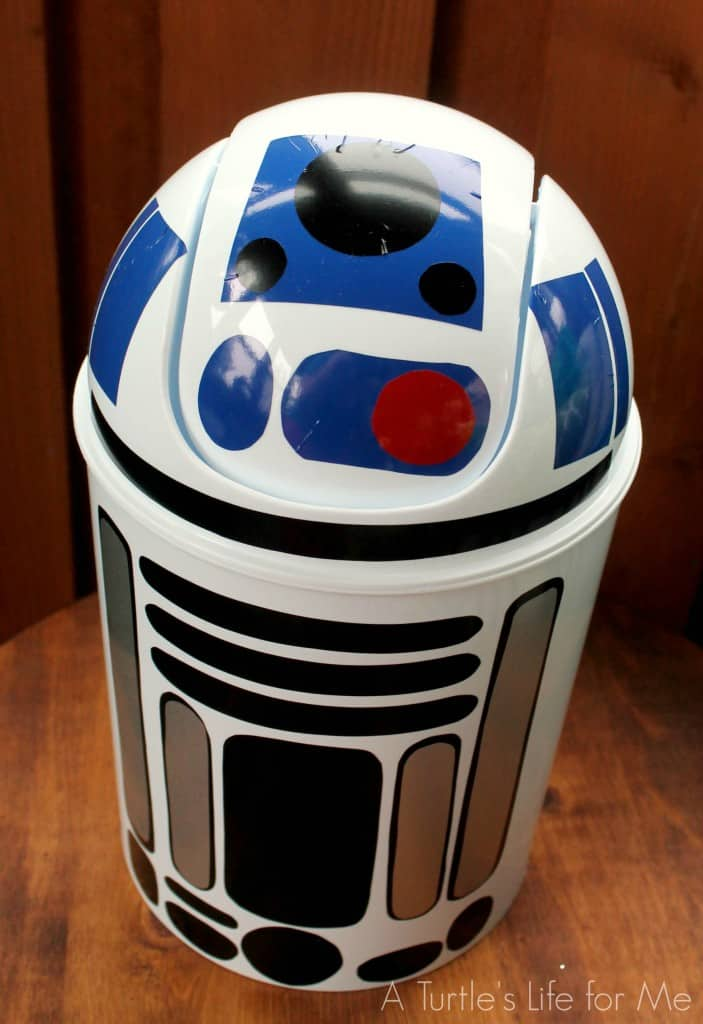 Star Wars R2D2 trashcan